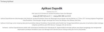 gambar tentang aplikasi dapodik