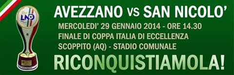 Avezzano vs San Nicolò Calcio (Teramo)