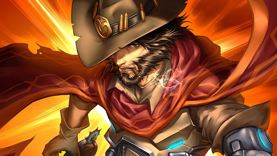 Mccree Overwatch 4k Wallpaper 27