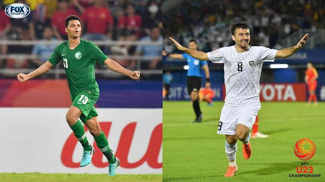 مشاهدة مباراة السعودية وأوزبكستان بث مباشر