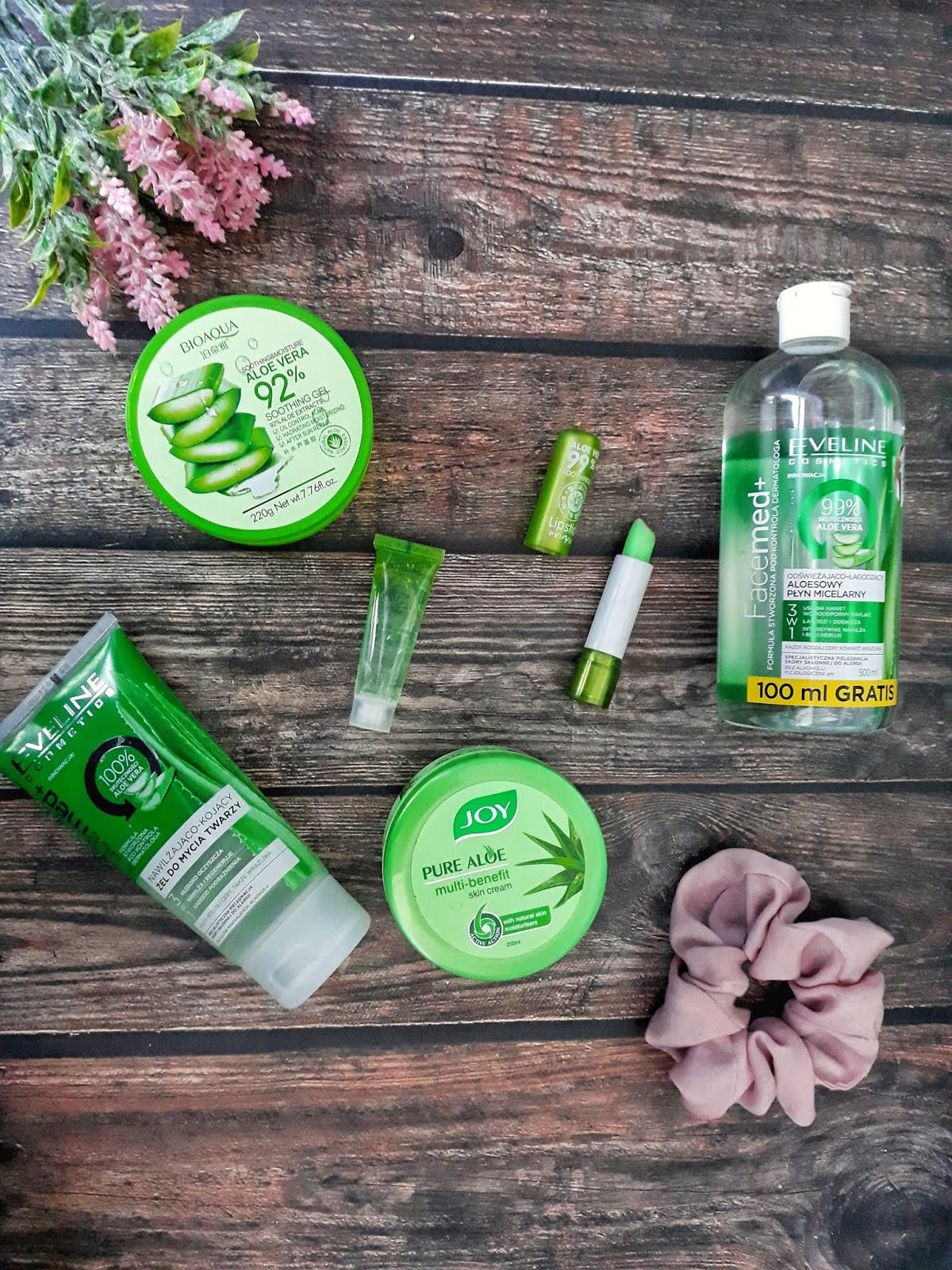 Najlepsze aloesowe kosmetyki w pielęgnacji skóry i włosów