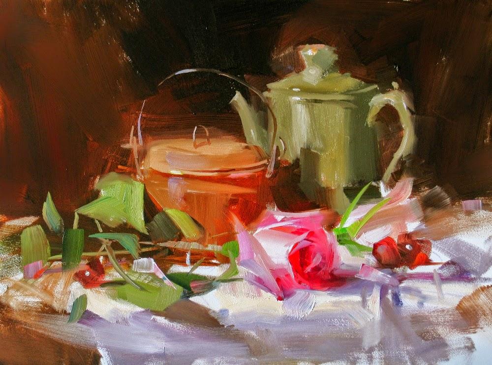 Lindas pinturas de Qiang Huang