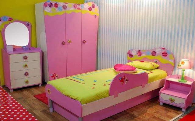 Desain Kamar Tidur Anak Perempuan Minimalis Sederhana