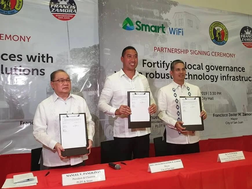 Smart Deploys Fast and Free WiFi in San Juan City