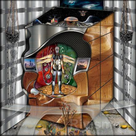 """Obra """"Hábitat en el Cosmos"""" de Ramón Rivas, presentada en el Premio Internacional """"CIUDAD DE NUEVA YORK"""""""
