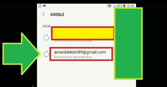 Pilih Akun Google Untuk Keluar Gmail 2