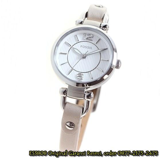jam tangan fossil silver
