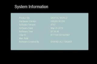 GX6605S HW203.00.030 HD RECEIVER CLINE OK NEW SOFTWARE