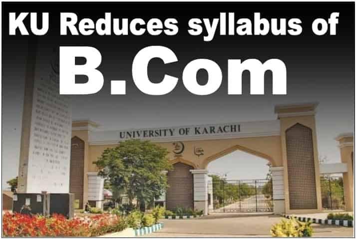 KU Approves reduced syllabus for B.Com 2021