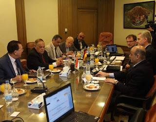 مباحثات ناجحة للهيئة العربية للتصنيع مع شركة سيمبل كامب الألمانية