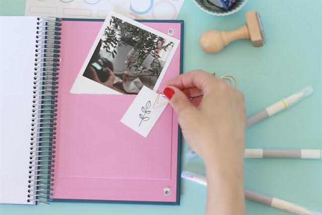 Bullet journal: lleva tus muestras de washi siempre contigo