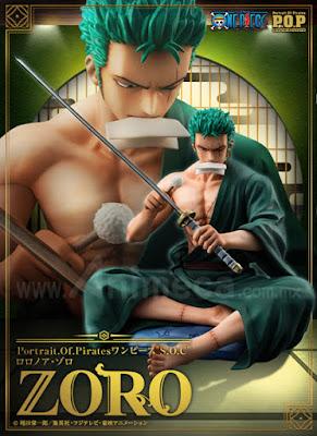 Figura Roronoa Zoro S.O.C Edición Limitada P.O.P One Piece