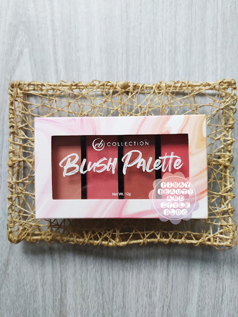 EB Collection Blush Palette from Ever Bilena Review and Swatches