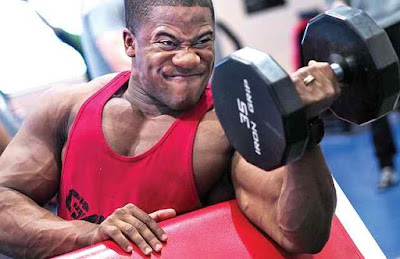 How to get bigger arms at home