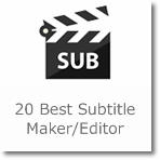 20 Best Subtitle Maker/Editor