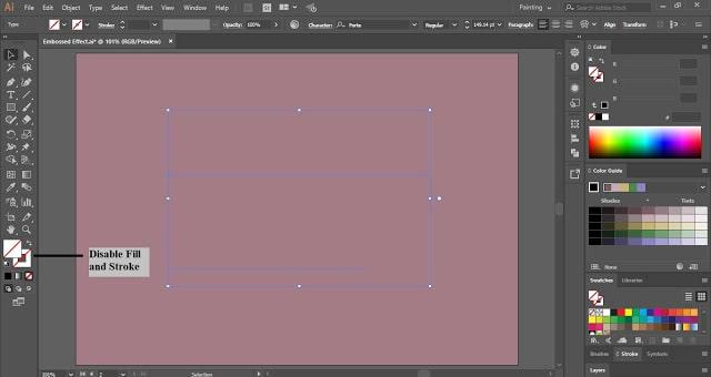 Emboss Text Effect in Adobe Illustrator