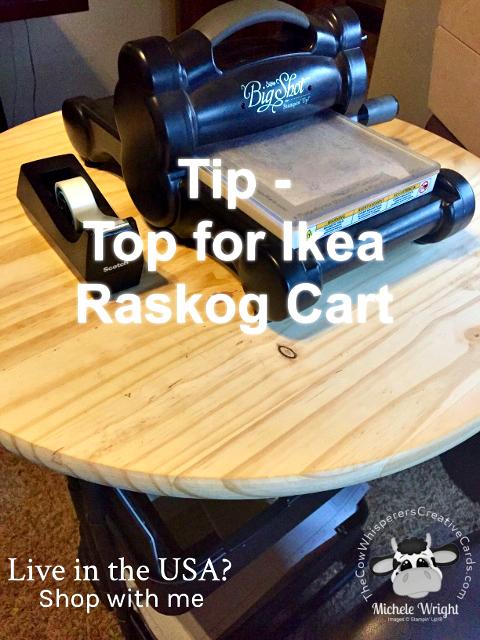 Tip, Shelf for Raskog Cart, Big Shot Cart, Raskog Cart
