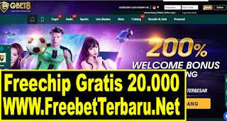 Freebet Gratis Gbet8 Senilai 20.000