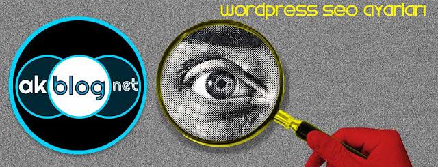 Wordpress SEO Ayarları