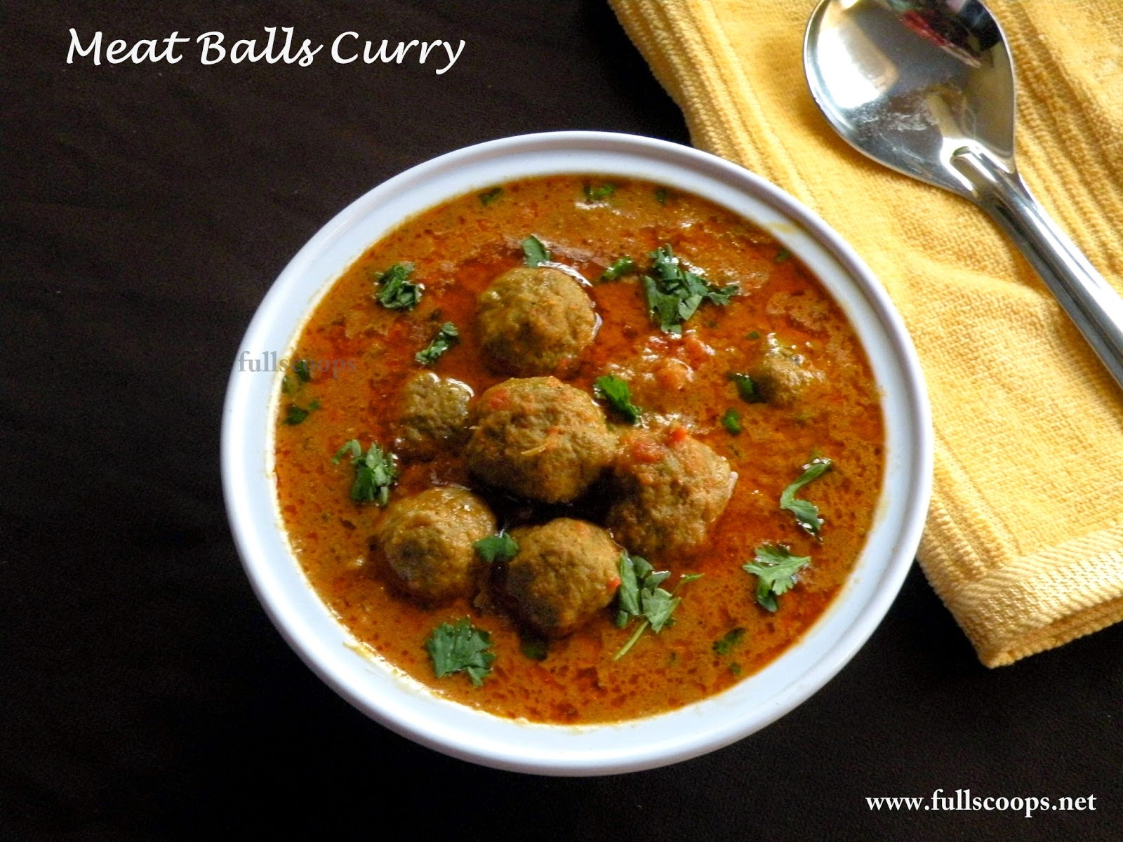 Meat Balls Curry