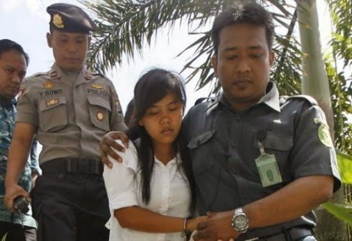 filipino woman spared indonesia