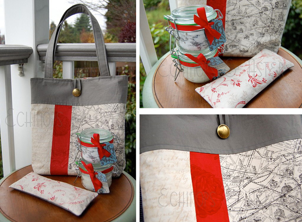 Tote Bag Sewing Pattern DIY Tutorial