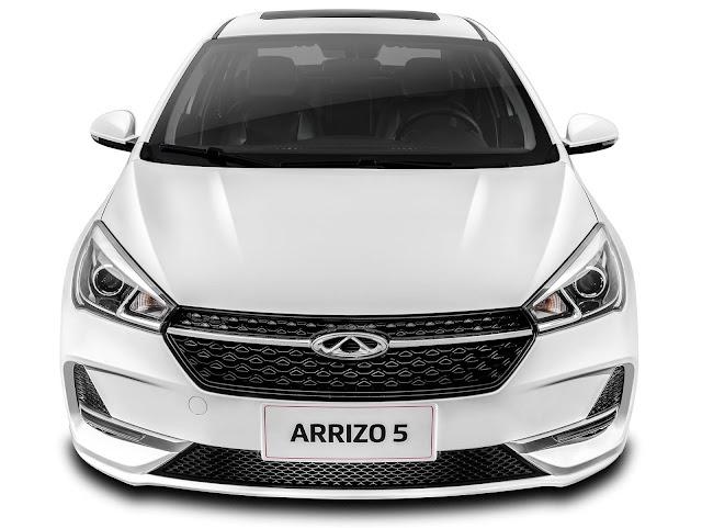 Caoa Chery Arrizo 5 - concorrente do Corolla