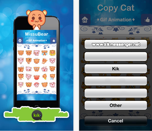 Tus chats mas entretenidos con Cute Emoticons for Kik Messenger