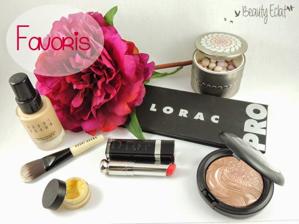 favoris beauté bobbi brown mac guerlain