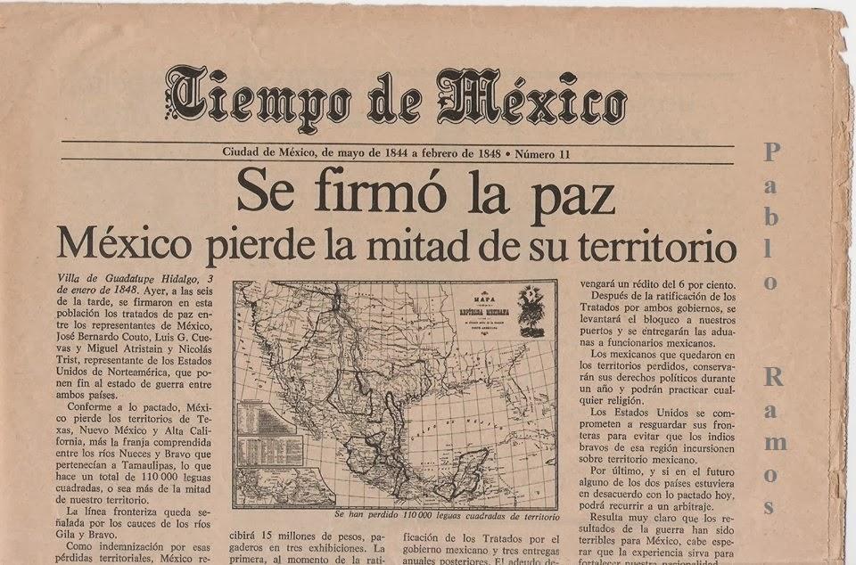 Resultado de imagen para mexico perdio la mitad de su territorio