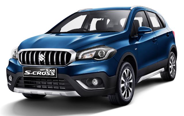 Review, Harga, Spesifikasi Suzuki Sx4 S Cross MT