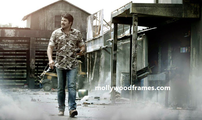 Mammootty in the film 'Fireman'