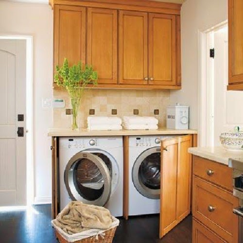 Kitchen Laundry Cabinets picture