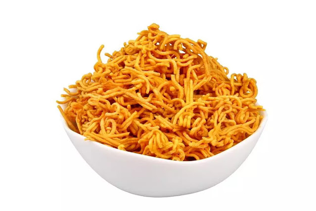 Besan Sev Recipe in Hindi