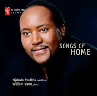 Songs of Home - Njabulo Madlala / William Vann - CHRCD071