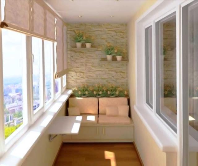 Utilize the Balcony And Loggia