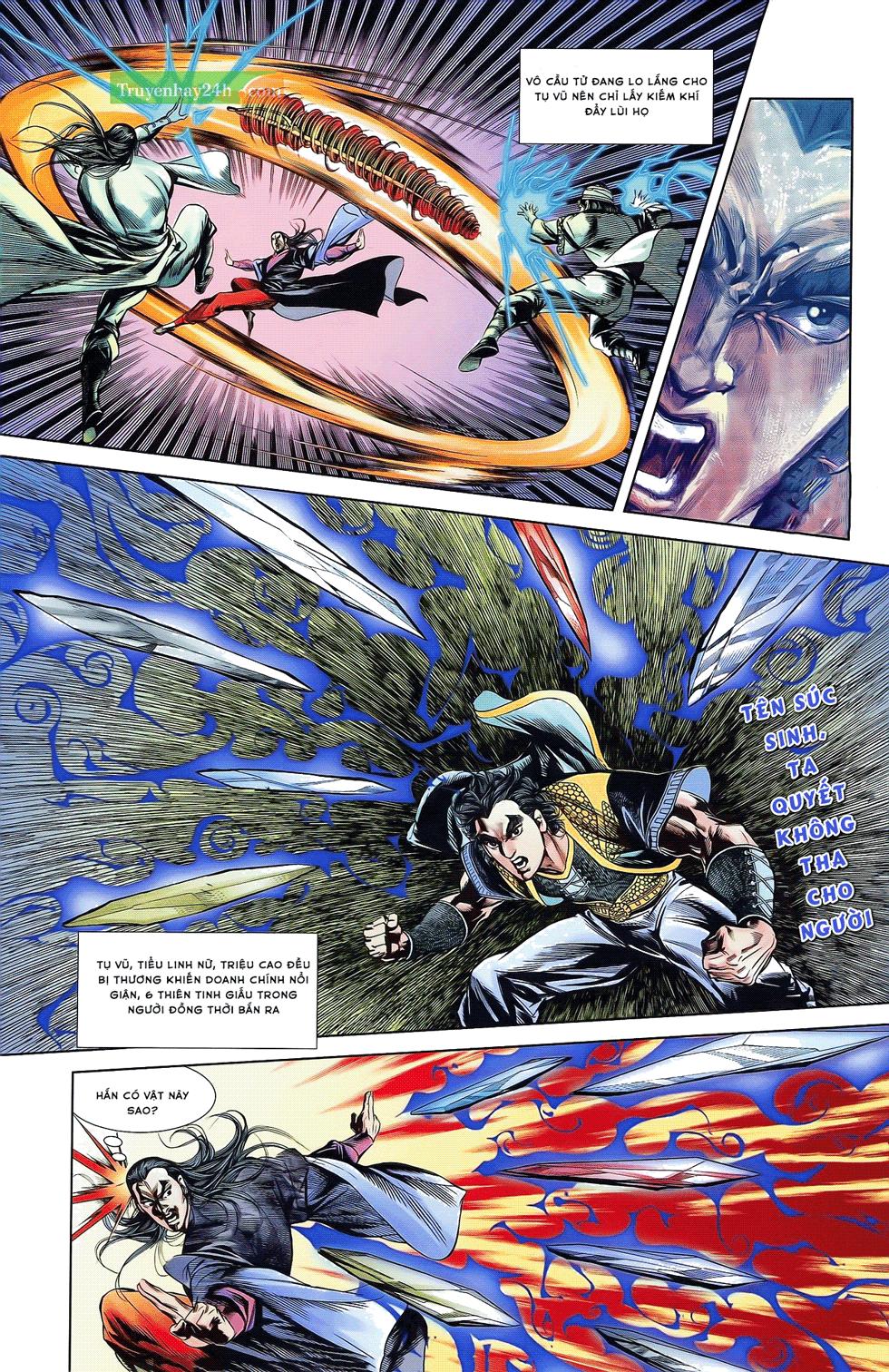 Tần Vương Doanh Chính chapter 21 trang 13