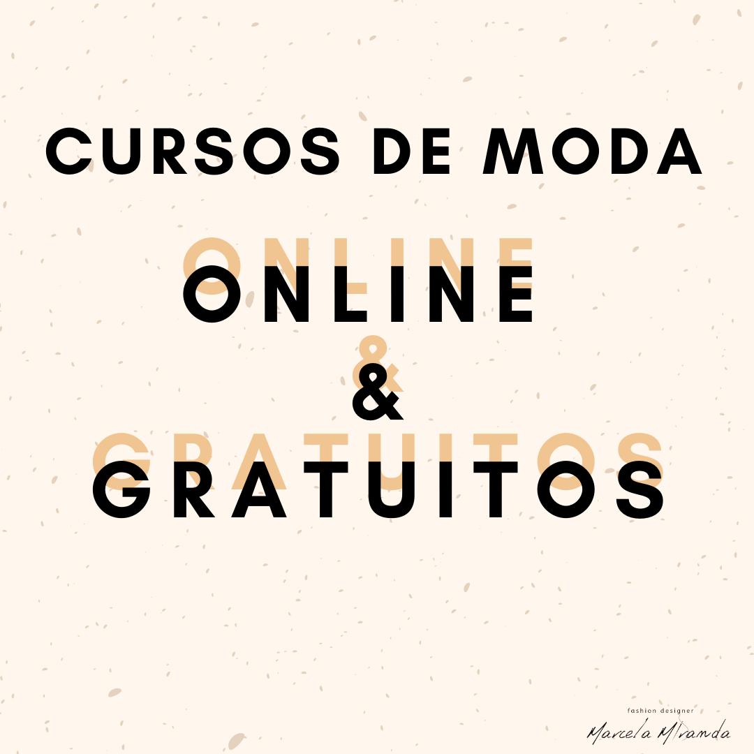 Cursos de moda gratuitos e online
