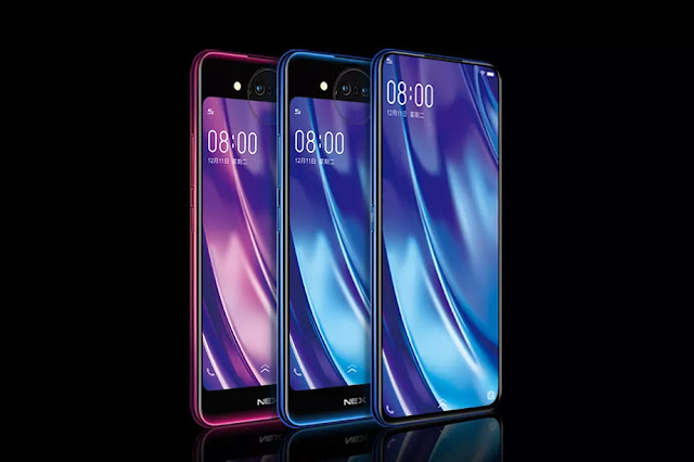 Vivo NEX Dual Display Edition, Handphone Android Dengan Dua Layar, Tripel Kamera dan RAM 10GB