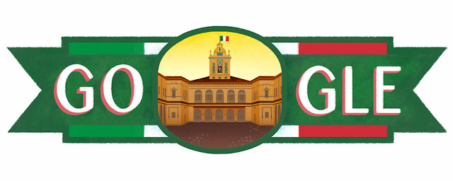 Republic Day Italy 2016 - Google Doodle