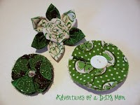 st patricks day hair clips