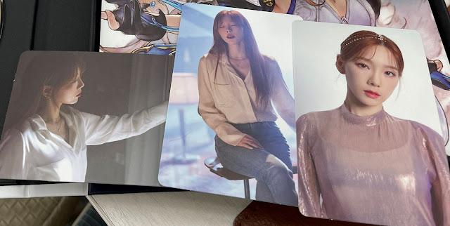 Taeyeon Gran Saga Photocards