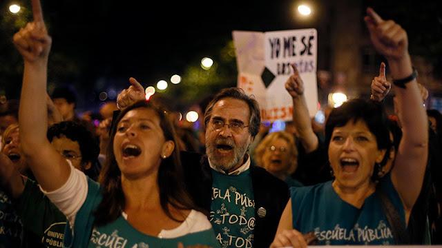 Marchas es España en contra de la austeridad