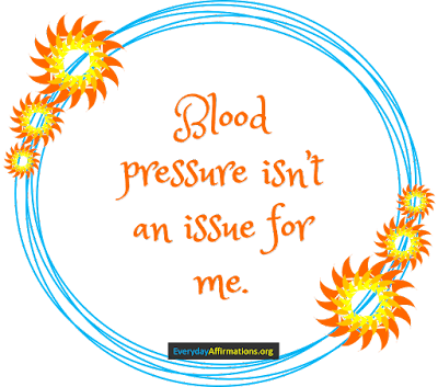 Health Affirmations for Blood Pressure