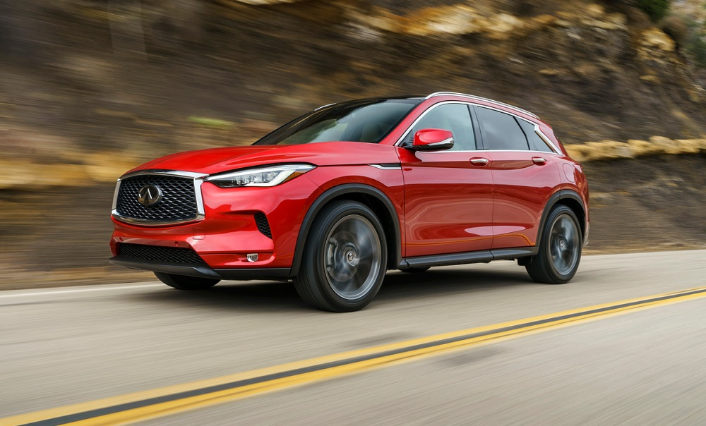 2019 Infiniti QX50 earns 5-star overall safety rating from NHTSA
