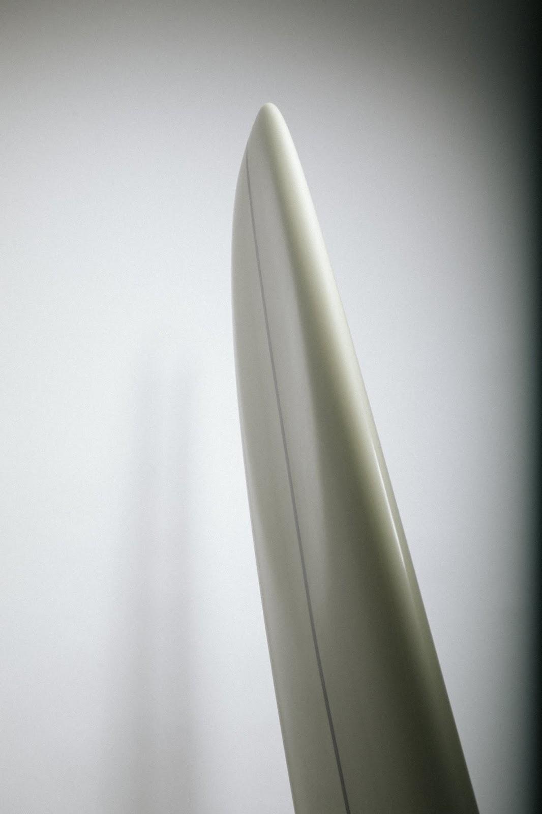 surfinestate log longboard singlefin glasson starship pig shape handshape shaper Hossegor France Vincent Lemanceau Arthur Nelli