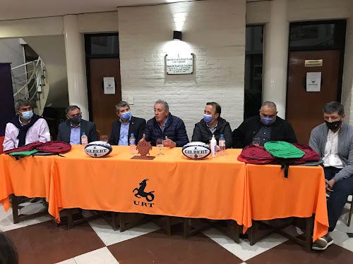 Curso para árbitros en el penal de Villa Urquiza #URT