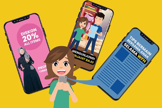 Tips Membuat Konten untuk Audiens Online Shop Fashion