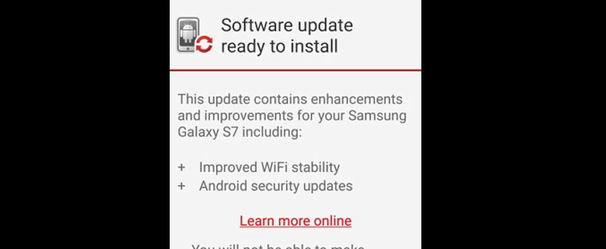 Verizon Galaxy S7 G930V Firmware Nougat Beta OTA Updates