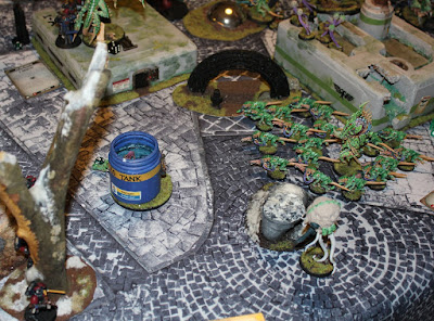 Warhammer 40k battle report - Maelstrom of War - Cloak And Shadows - 1500 points - Primaris Ultramarines vs Tyranids, Hive Fleet Gorgon.